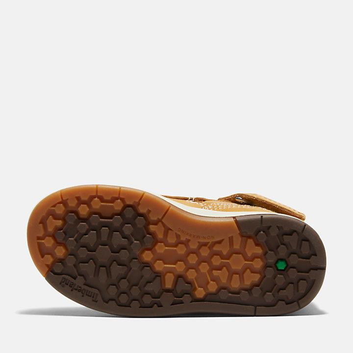 Toddler Davis Square Leather Chukka Shoes-