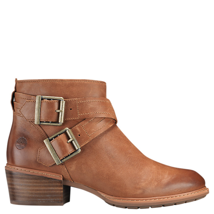 Women's Sutherlin Bay Cross-Strap Ankle Boots-