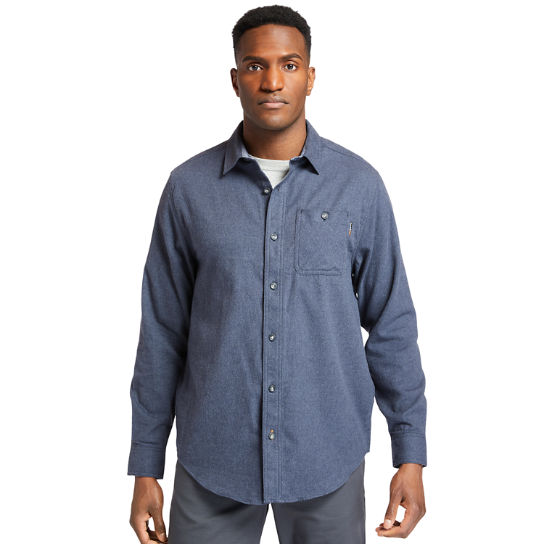 Men's Timberland PRO® Woodfort Midweight Flannel Work Shirt