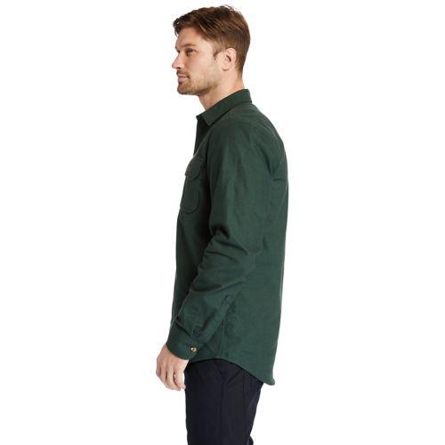 Men's Timberland PRO® Woodfort Heavyweight Flannel Work Shirt-