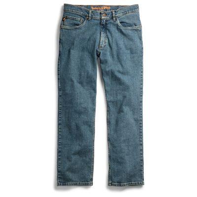 Men's Timberland PRO® Grit-N-Grind Straight Fit Flex Denim