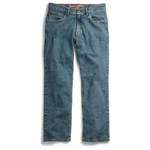 Men's Timberland PRO® Grit-N-Grind Straight Fit Flex Denim Work Pant-