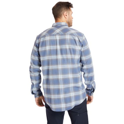 Men's Timberland PRO® Big & Tall Woodfort Flex Flannel Work Shirt-