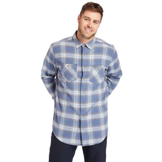Men's Timberland PRO® Big & Tall Woodfort Flex Flannel Work Shirt