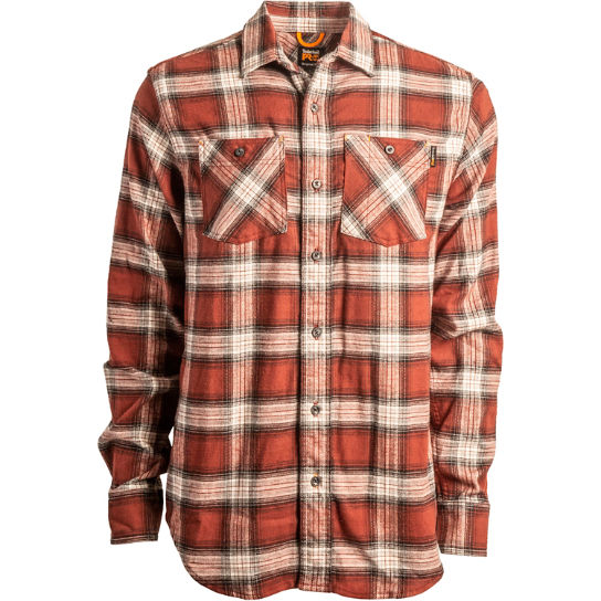 Men's Timberland PRO® Woodfort Flex Flannel Work Shirt