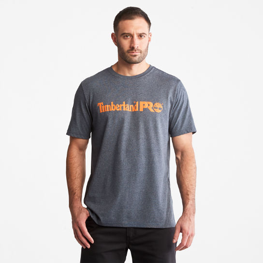Men's Timberland PRO® Short Sleeve Base Plate Wicking Logo T-Shirt