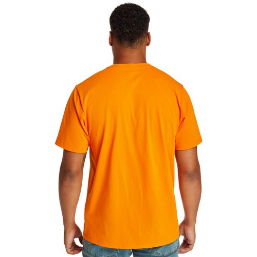 Men's Timberland PRO® Short Sleeve Base Plate Wicking Logo T-Shirt-