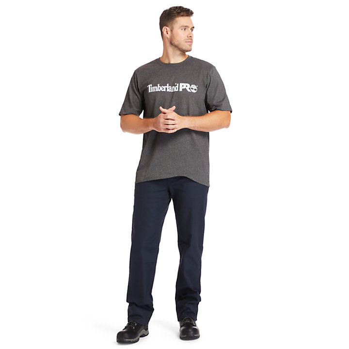 Men's Timberland PRO® Base Plate Big & Tall Short-Sleeve Logo T-Shirt-