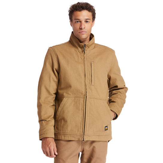 Men's Timberland PRO® Gritman Lined Canvas Jacket