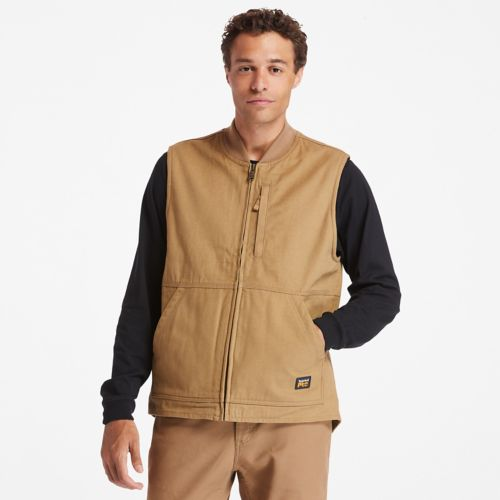 Men's Timberland PRO® Gritman Lined Canvas Vest-