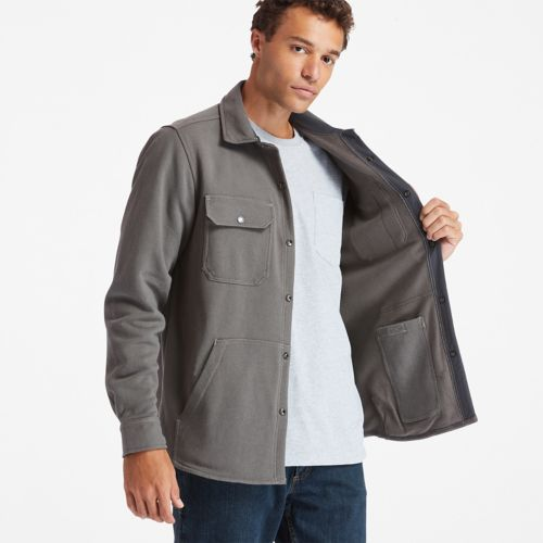 Men's Timberland PRO® Mill River Fleece Shirt Jacket-
