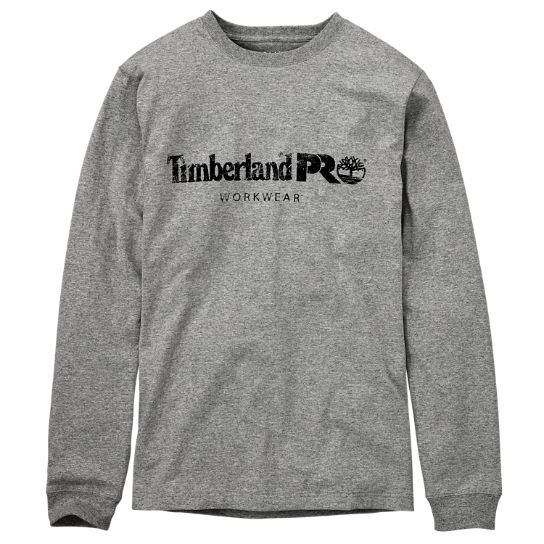 Men's Timberland PRO® Cotton Core Long Sleeve T-Shirt