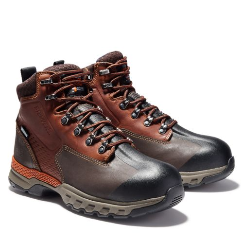 "Men's Timberland PRO® Downdraft 6"" Alloy Toe Boots-"