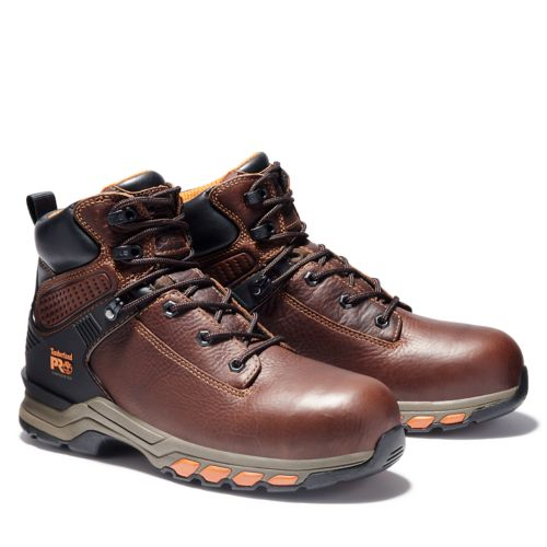 """Men's Timberland PRO® Hypercharge 6"""" Comp Toe Work Boots-"""