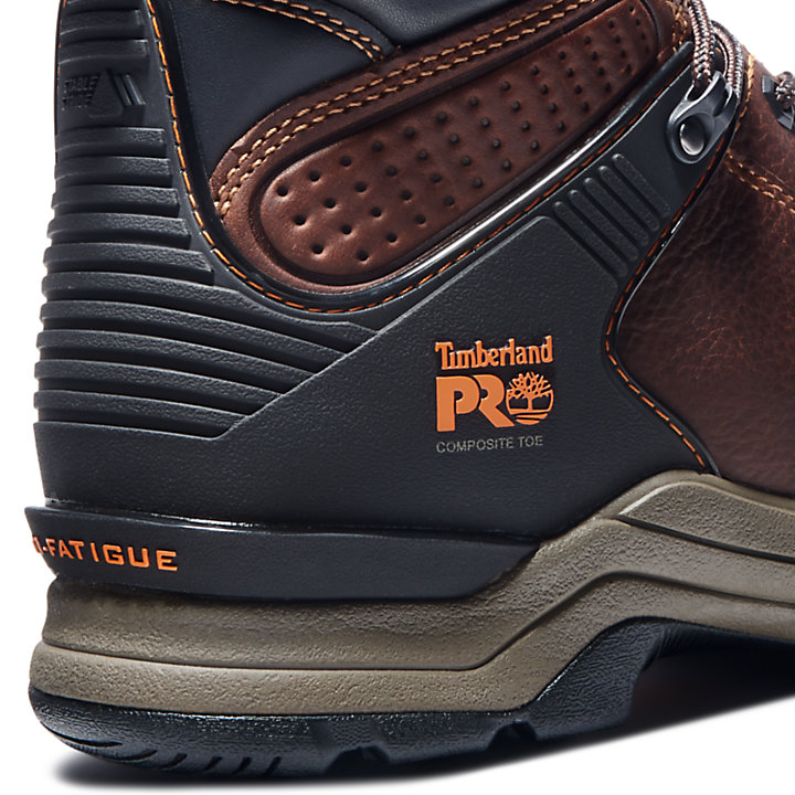 "Men's Timberland PRO® Hypercharge 6"" Comp Toe Work Boots-"