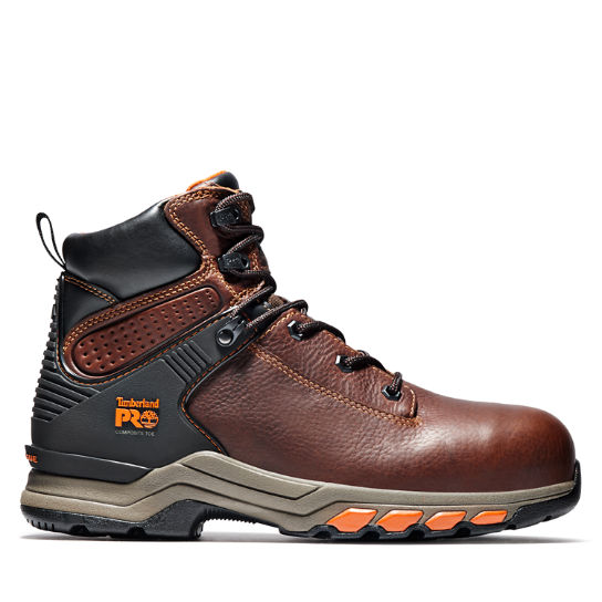 "Men's Timberland PRO® Hypercharge 6"" Comp Toe Work Boots"