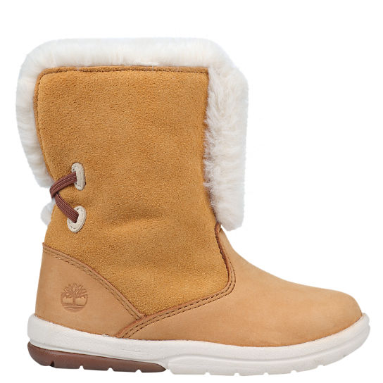 Toddler Toddle Tracks Faux-Shearling Booties
