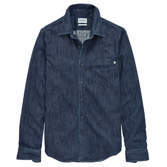 Men's Indian River Slim Fit Denim Shirt