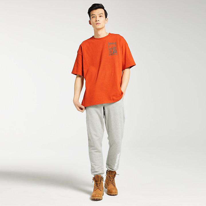 Men's Oversized Outdoor-Inspired T-Shirt-