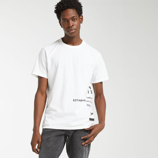 Men's Reflective Side Graphic T-Shirt