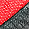 Black/Red Fabric