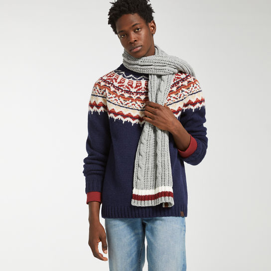 Men's Fair Isle Wool Sweater