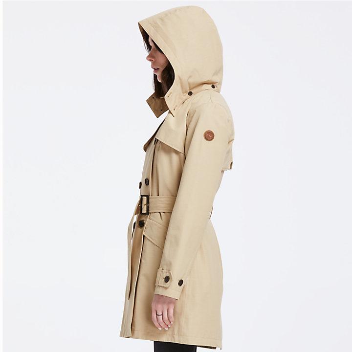 Women's Waterproof Trench Coat-