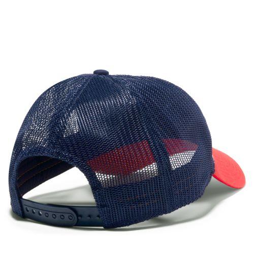 Women's Mountain-Logo Trucker Hat-