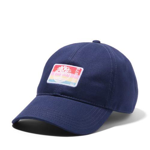 Women's Rainbow-Patch Baseball Cap-