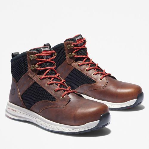 Men's Timberland PRO® Drivetrain Comp Toe Mid Boots-