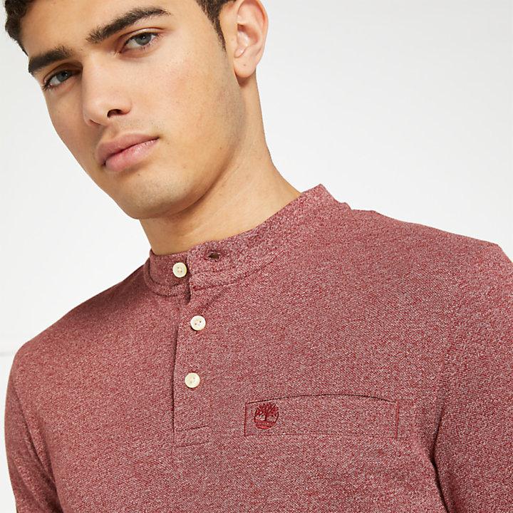 Men's Slim Fit Essential Henley Shirt-