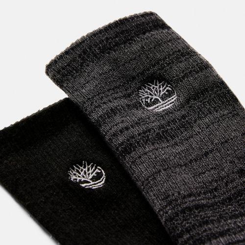 Men's 2-Pack Casual Crew Socks-