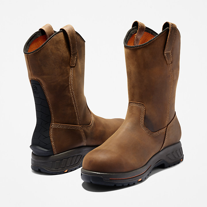Men's Timberland PRO® Helix HD Comp Toe Pull-On Work Boots-