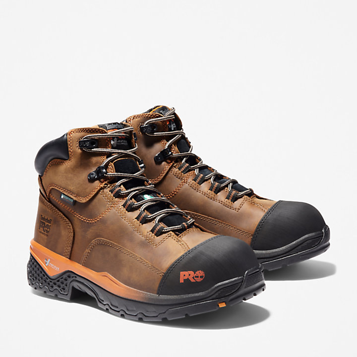 "Men's Timberland PRO® Bosshog 6"" Comp Toe Work Boots-"