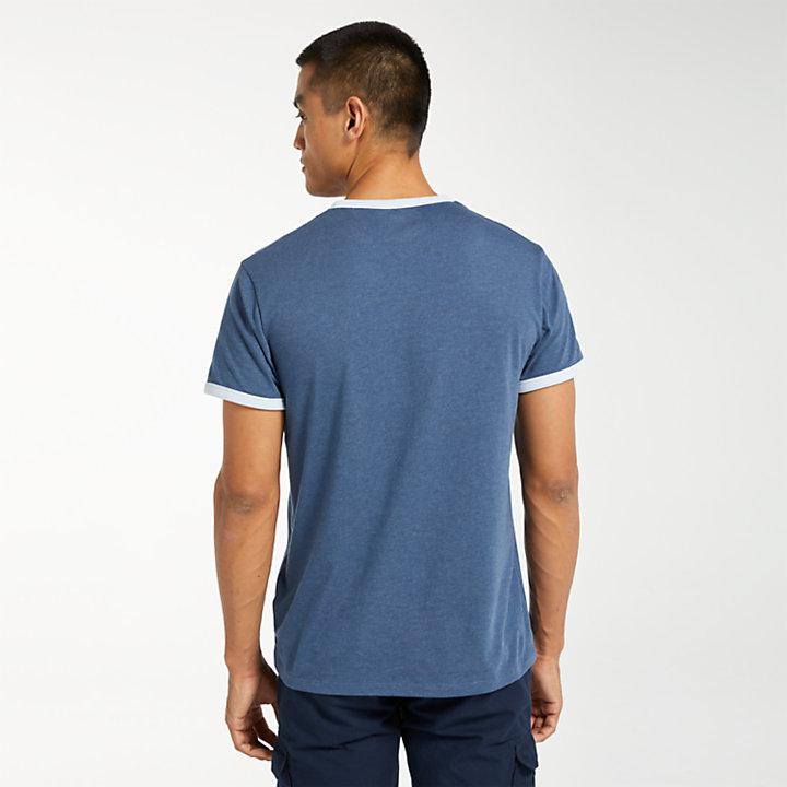 Men's Simple Logo Ringer T-Shirt-
