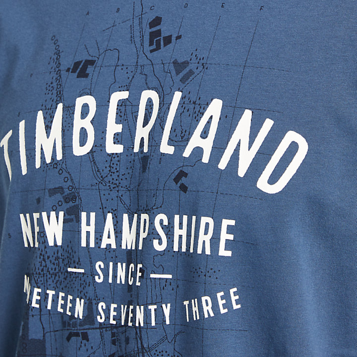 Men's Timberland® Map Graphic T-Shirt-