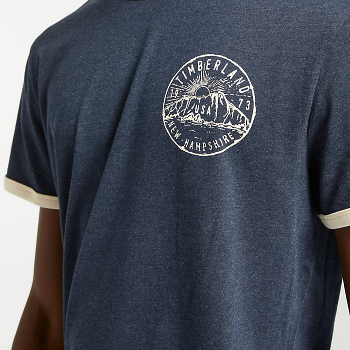 Men's Hit the Mountains Ringer T-Shirt-