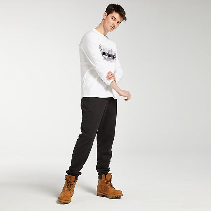 Men's Long Sleeve Camo Logo T-Shirt-