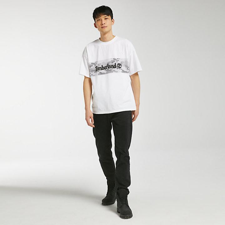 Men's Short Sleeve Camo Logo T-Shirt-