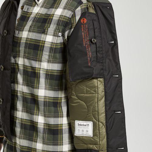 Men's Ecoriginal Quilted Bomber Jacket-