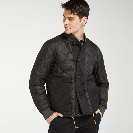 Men's Ecoriginal Quilted Bomber Jacket