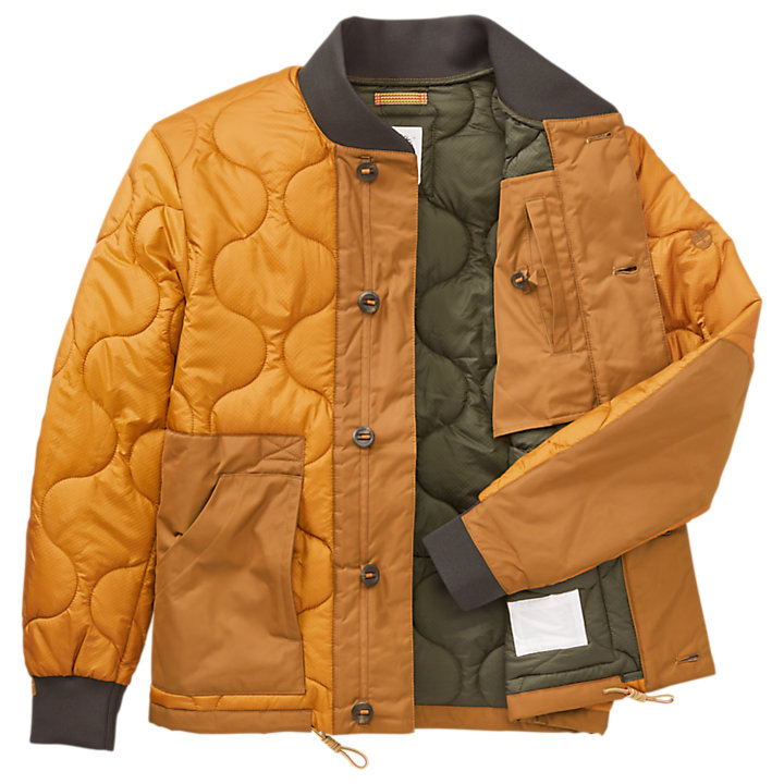 Men's Ecoriginal Quilted Bomber Jacket-