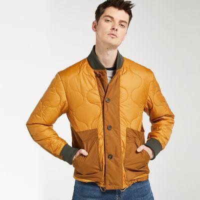 Men's Ecoriginal Quilted Bomber Jacket