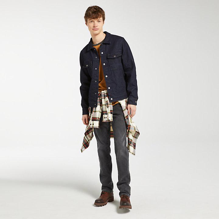 Men's Denim Trucker Jacket-