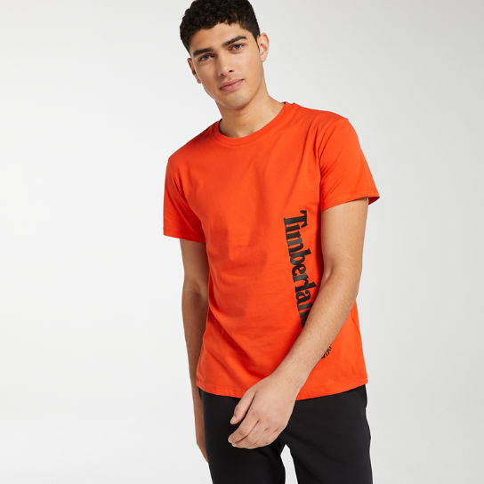 Men's Offset Linear Logo T-Shirt