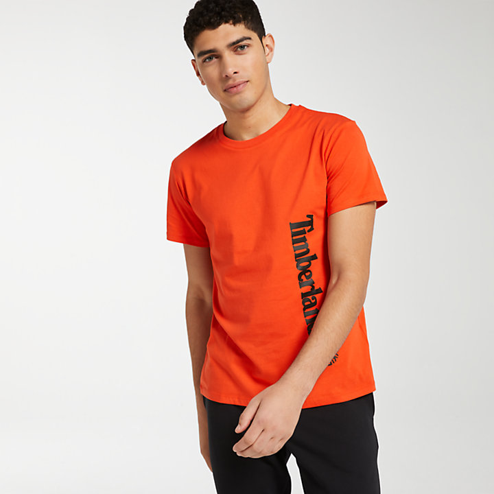 Men's Offset Linear Logo T-Shirt-