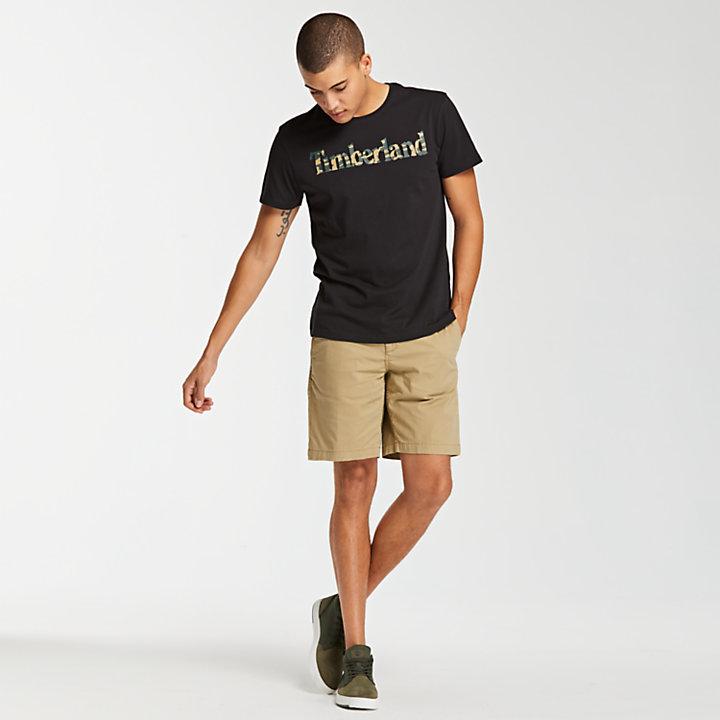 Men's Essential Linear Camo Logo T-Shirt-