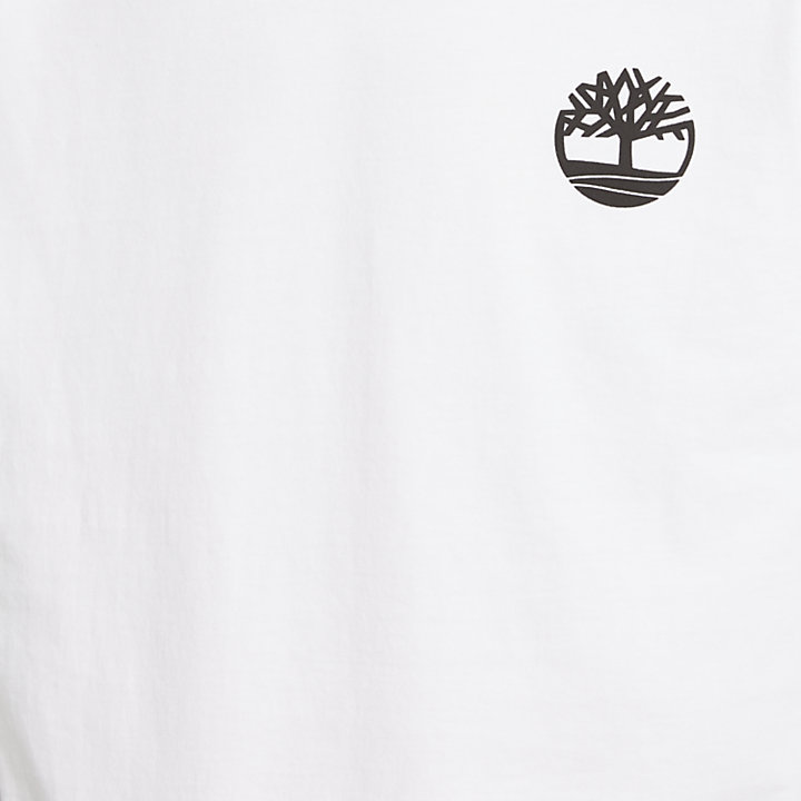 Men's Long Sleeve Back Tree Logo T-Shirt-