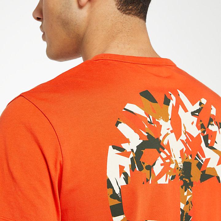 Men's Camo Back Logo T-Shirt-