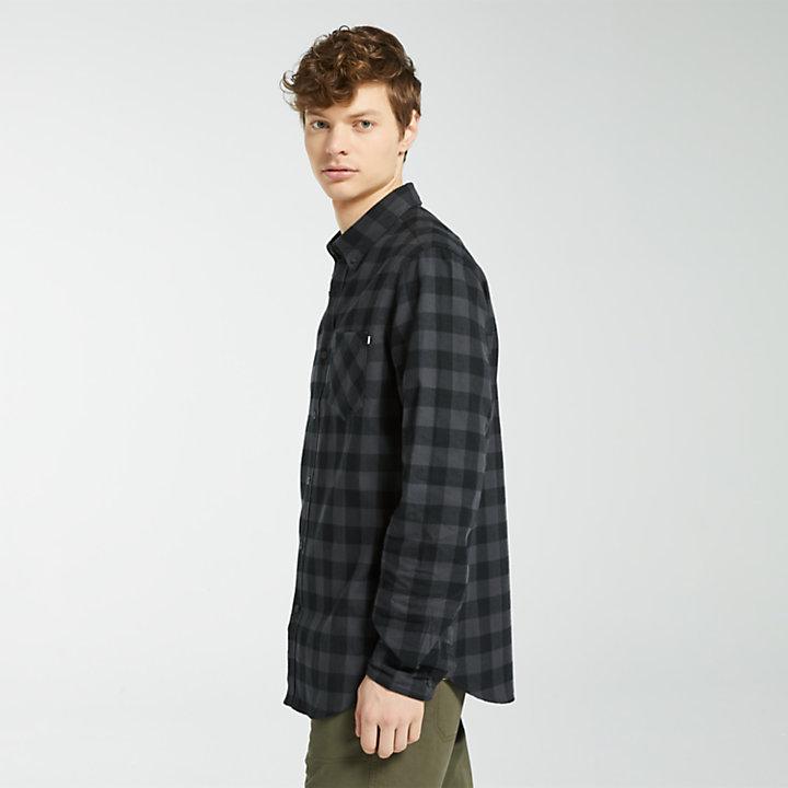 Men's Nashua River Buffalo Check Flannel Shirt-
